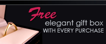 Elegant Gift Box with every purchase